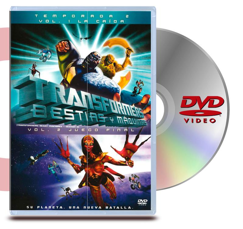 DVD Transformers Bestias y Maquinas Vol 2