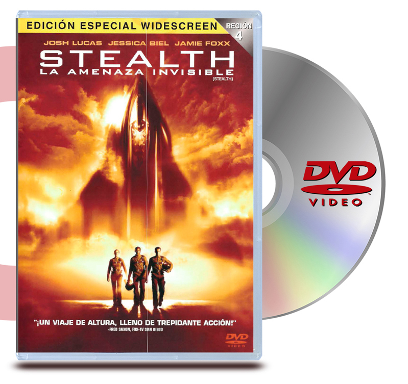 DVD Stealth, Amenaza Invisible