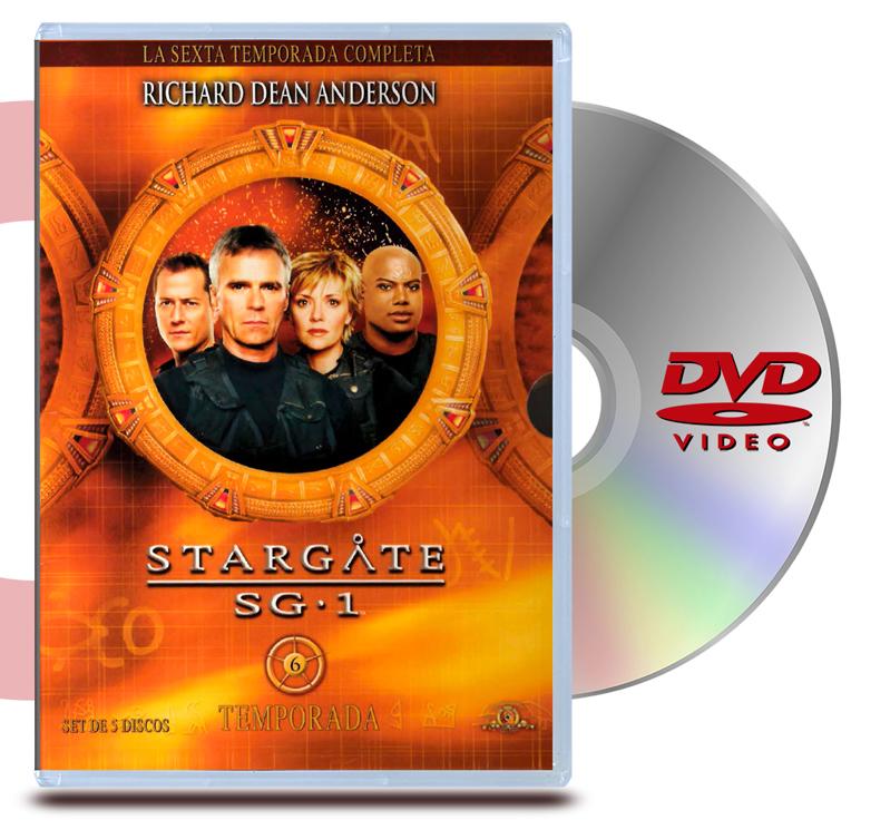 DVD Stargate Sg1 - Temporada 6