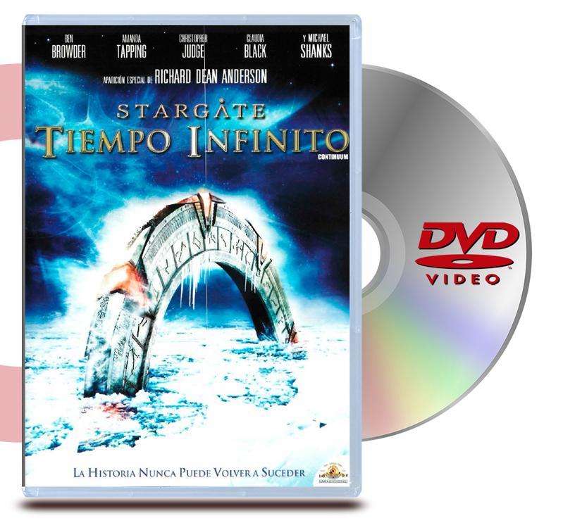 DVD Stargate La pelicula Tiempo infinito