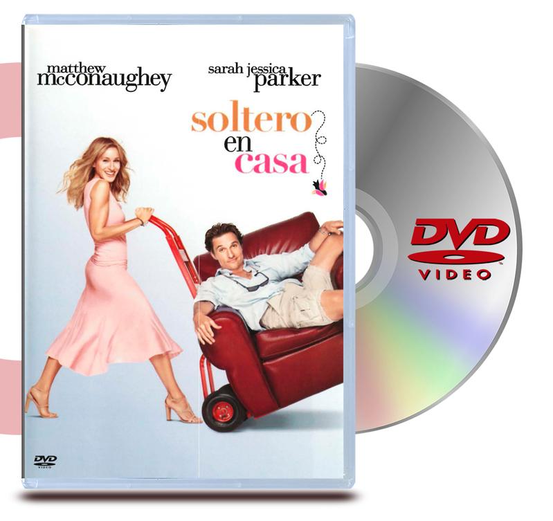 DVD Soltero en casa
