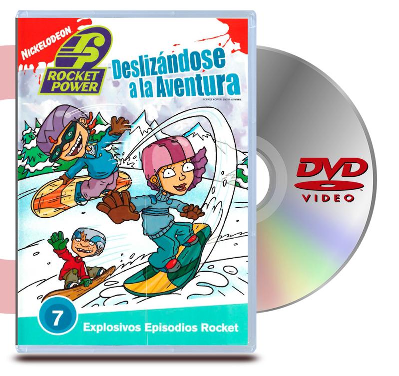 DVD Rocket Power Deslizandose A La Aventura 7