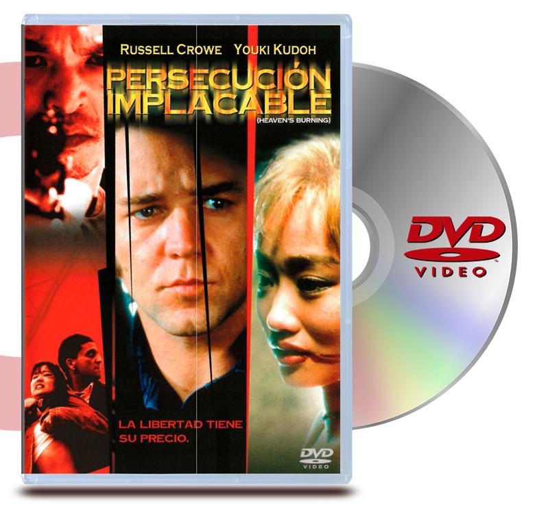 DVD Persecución Implacable
