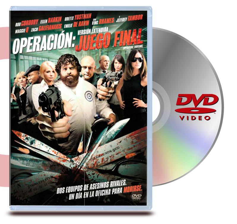 DVD Operación: juego final
