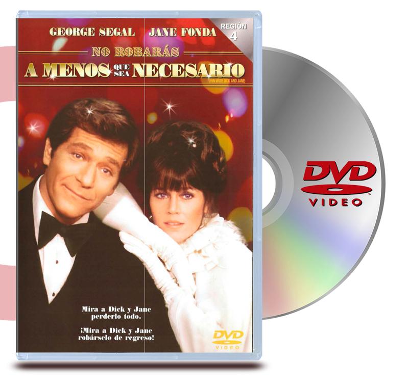 DVD No Robaras a menos que sea necesario