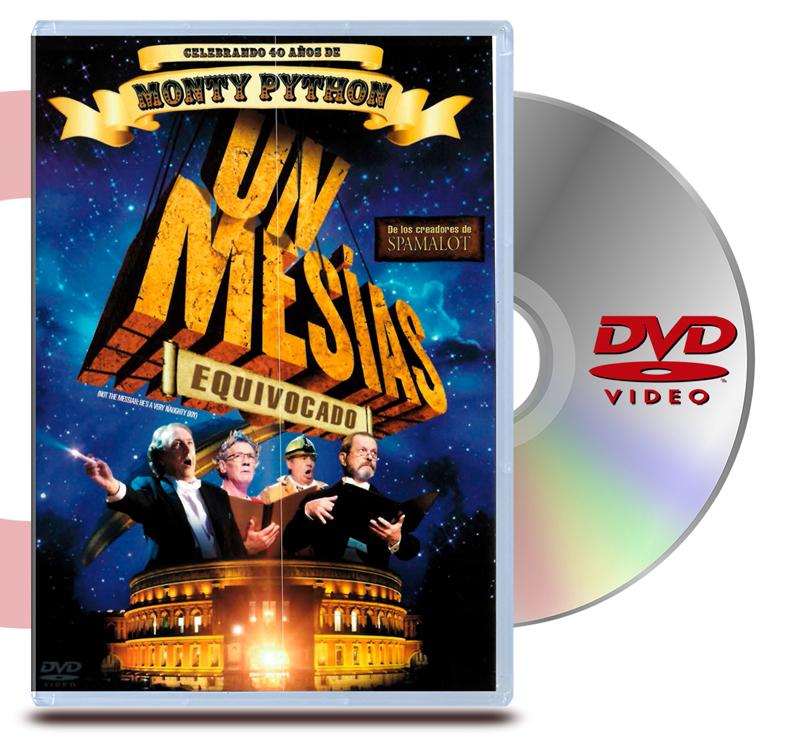 DVD Monty Python: Un mesias equivocado