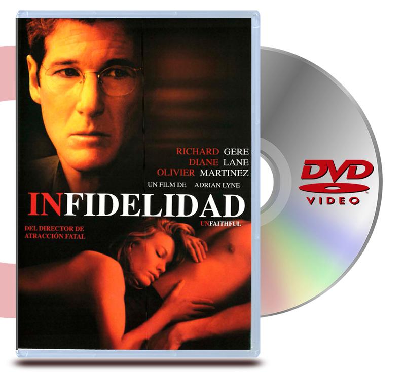 DVD Infidelidad (Unfaithful)