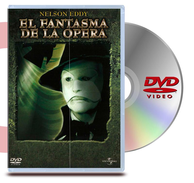 DVD El Fantasma De La Opera (1943)