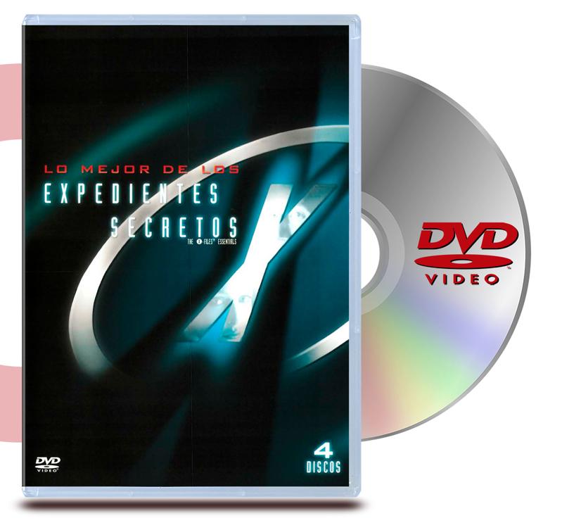 DVD Archivos Secretos X los Mejor Essentials