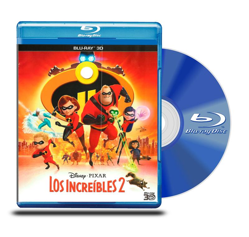 Blu Ray 3D Los Increibles 2