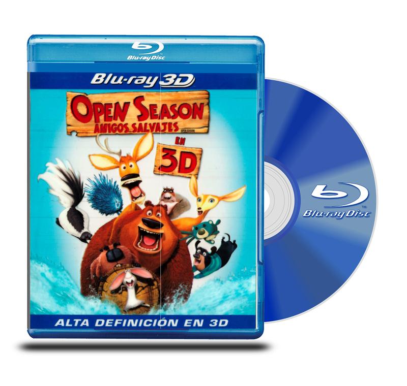 Blu Ray 3D Open Season