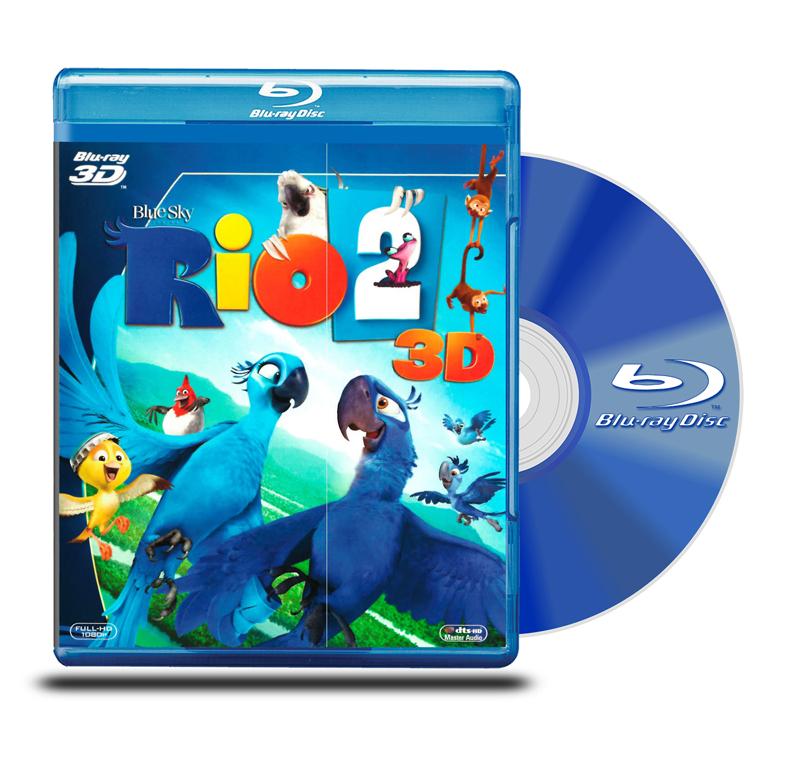 Blu Ray 3D Río 2
