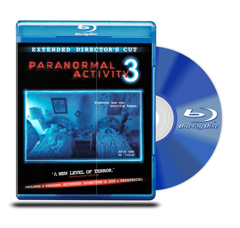 Blu Ray Actividad Paranormal 3