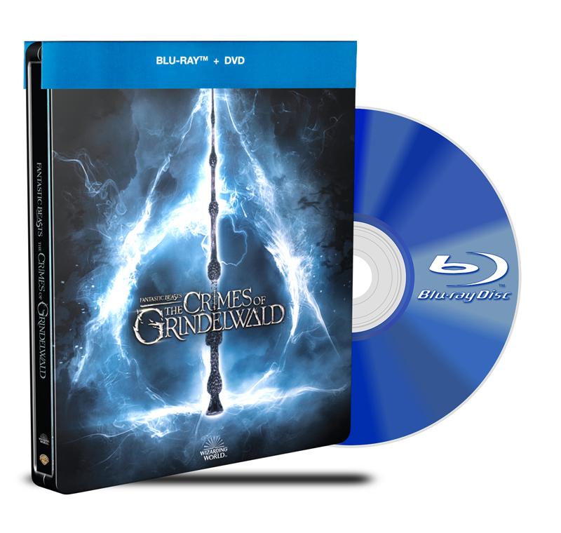 Steel Book Animales Fantásticos Los crímenes de Grindelwald BD+DVD