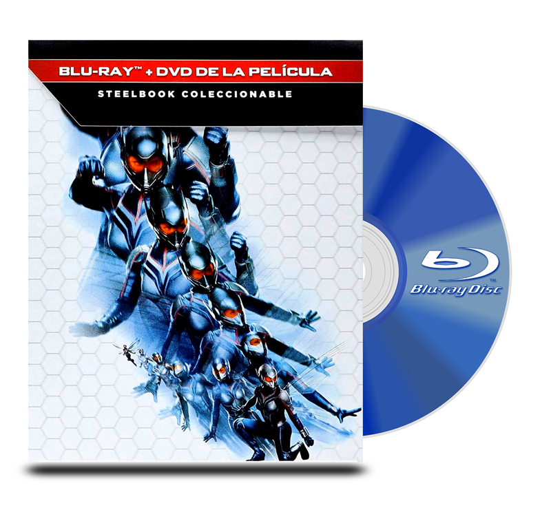 Steel Book Ant-Man and the Wasp BD + DVD