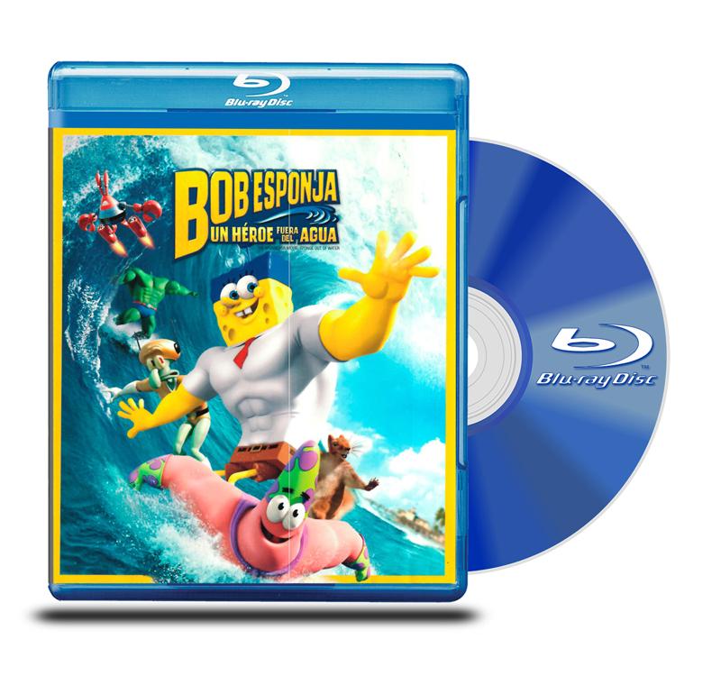 Blu Ray Bob Esponja: Un Héroe fuera del Agua