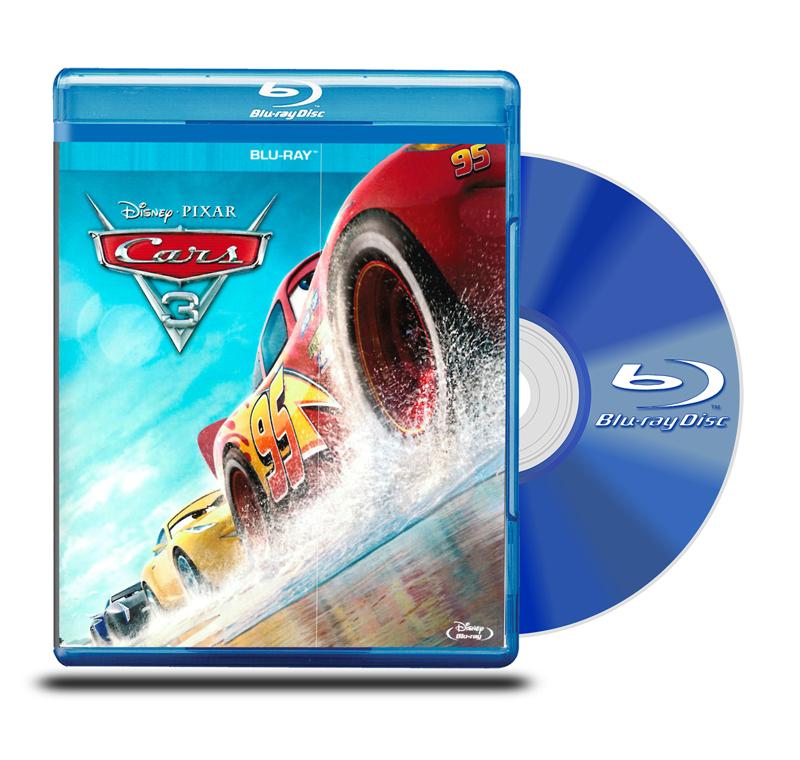 Blu Ray Cars 3