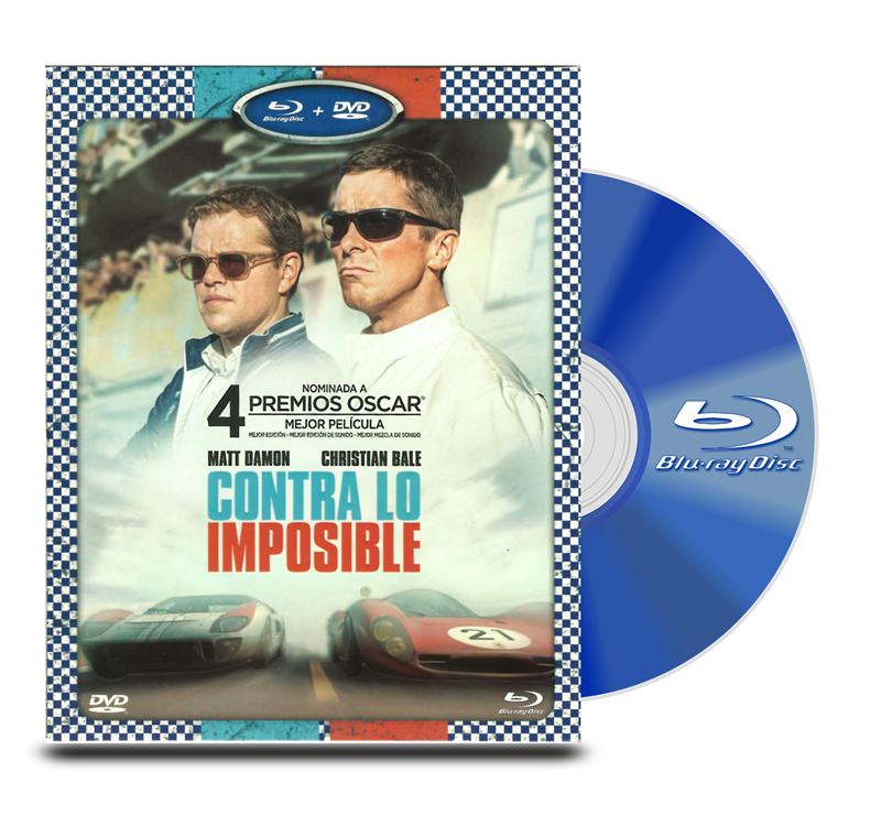 Blu Ray Contra Lo Imposible BD+DVD