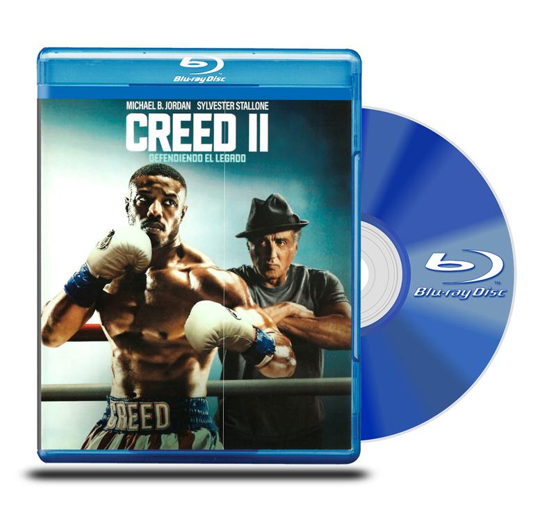 Blu Ray Creed II