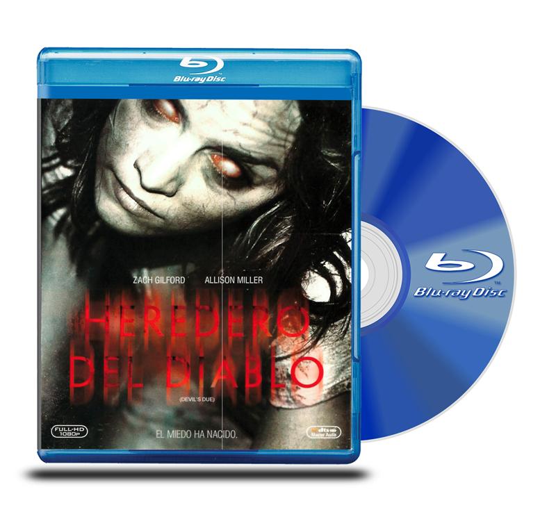 Blu Ray El Heredero del Diablo