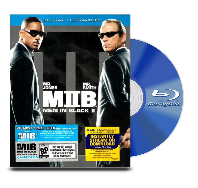Blu Ray Hombres de Negro 2 BD+Ultraviolet