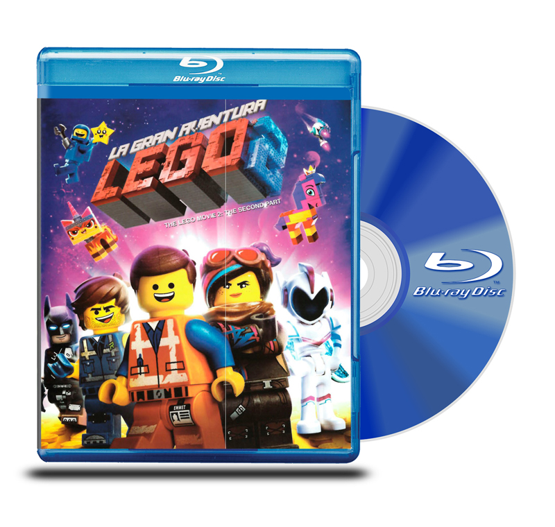 Blu Ray La Gran Aventura Lego 2