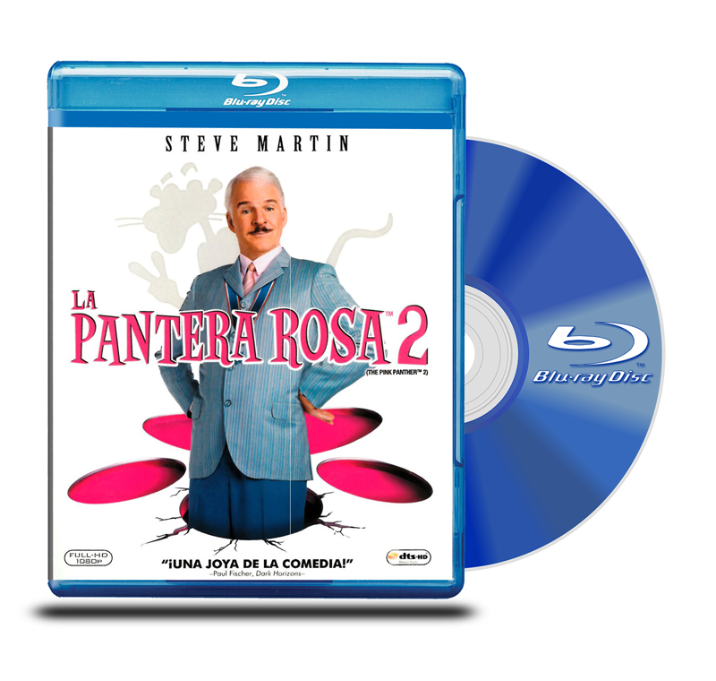 Blu Ray La Pantera Rosa 2