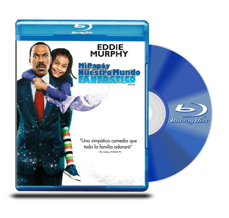 Blu Ray Mi Papá y Nuestro Mundo Fantástico
