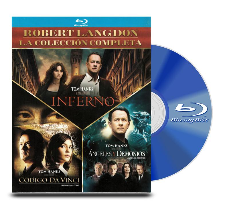 Blu Ray Pack Angeles / Codigo / Inferno