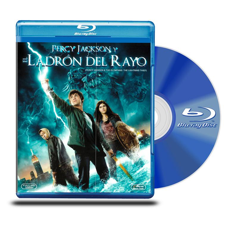 Blu Ray Percy Jackson y El Ladrón del Rayo