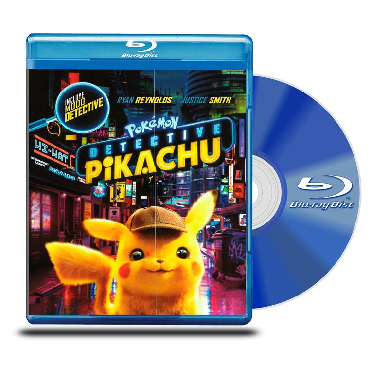 Blu Ray Pokemon: Detective Pikachu