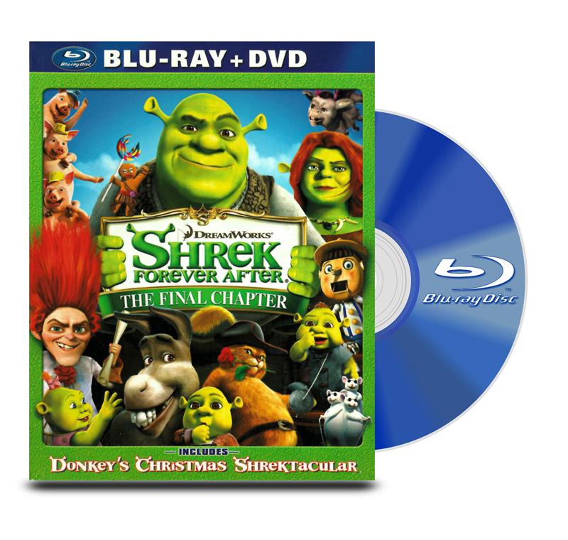 Blu Ray Shrek 4 Para Siempre BD+DVD