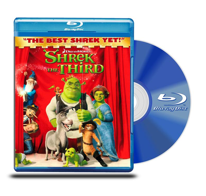 Blu Ray Shrek Tercero