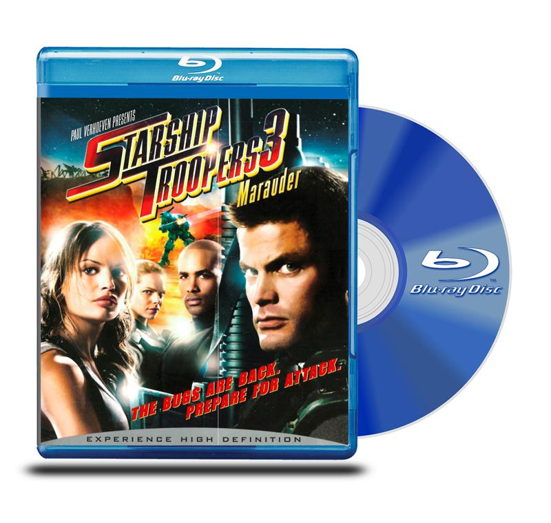 Blu Ray Starship Troppers 3 ( Invasión 3 - Merodeador)