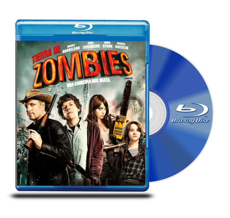 Blu Ray Tierra de Zombies