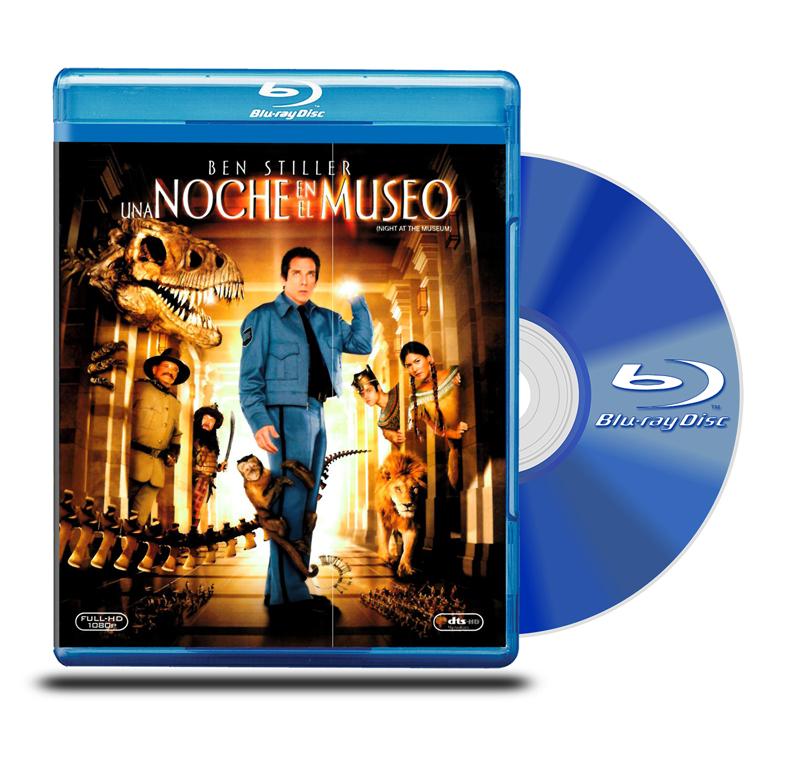 Blu Ray Una Noche en el Museo