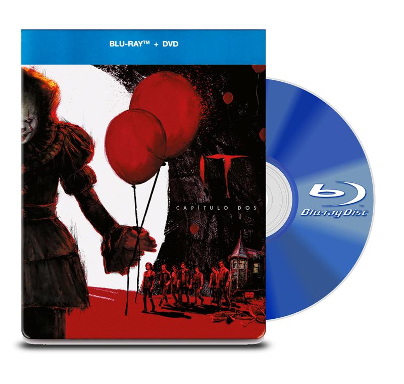 Steel Book Blu Ray IT Capitulo 2 BD+DVD
