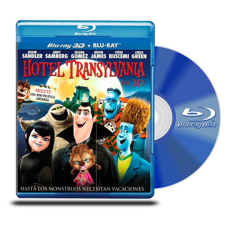 Blu Ray 3D Hotel Transylvania