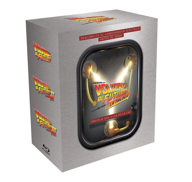 Blu Ray Pack Volver al Futuro Trilogia (PVcA)