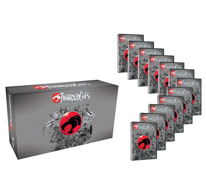 DVD Pack ThunderCats Serie (PVcA)