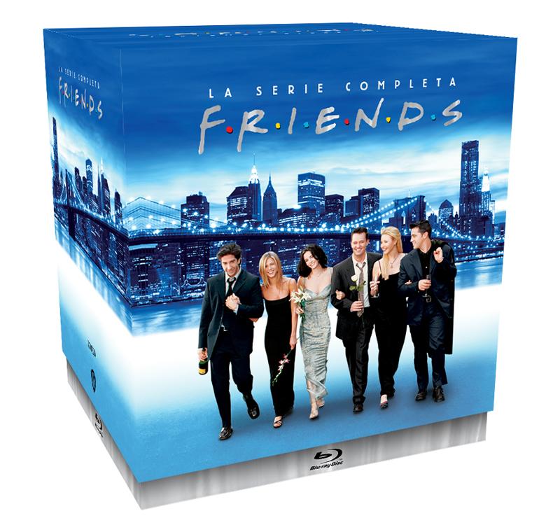 Blu Ray Pack Friends