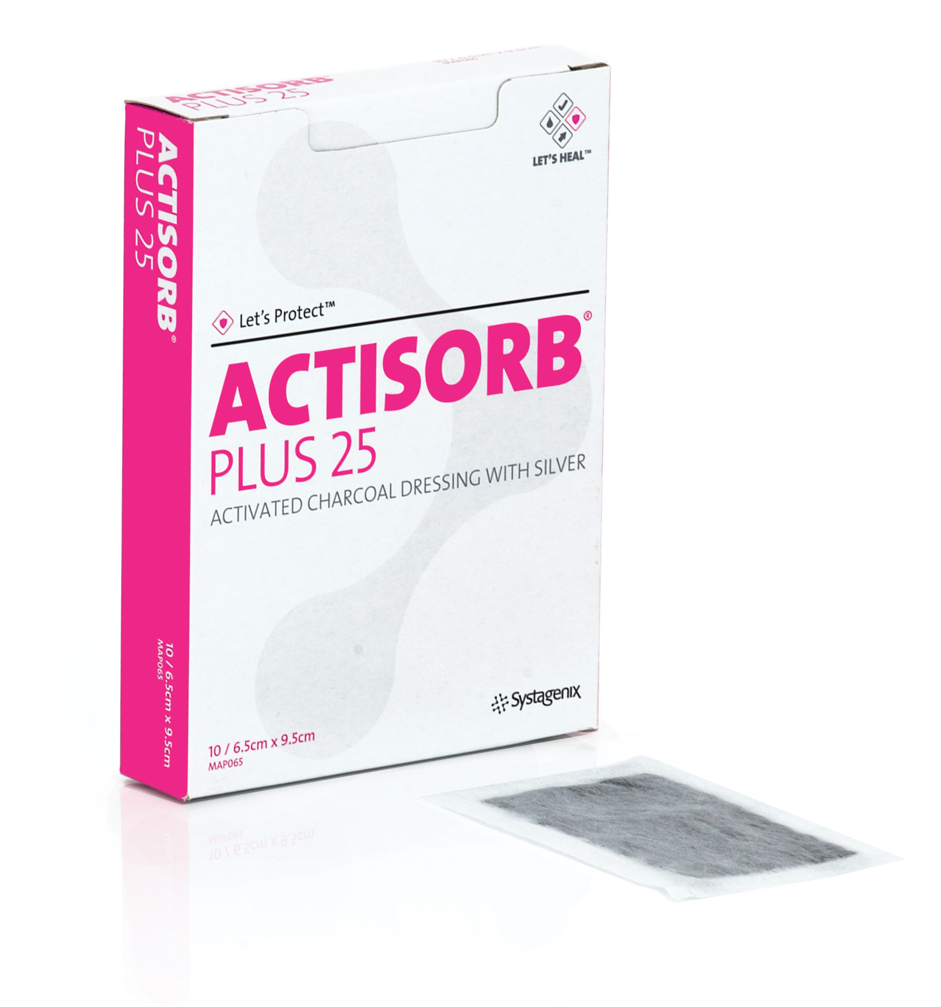 Actisorb Plus  Disponible en diferentes Medidas