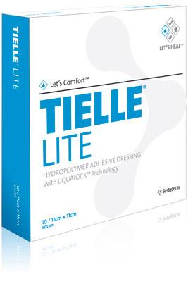 TIELLE LITE: Apósito Hidropolimero Adhesivo Tielle Lite. Disponible en diferentes medidas.