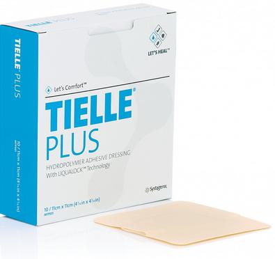 TIELLE PLUS: Apósito Hidropolímero Adhesivo. Disponibles en diferentes Medidas