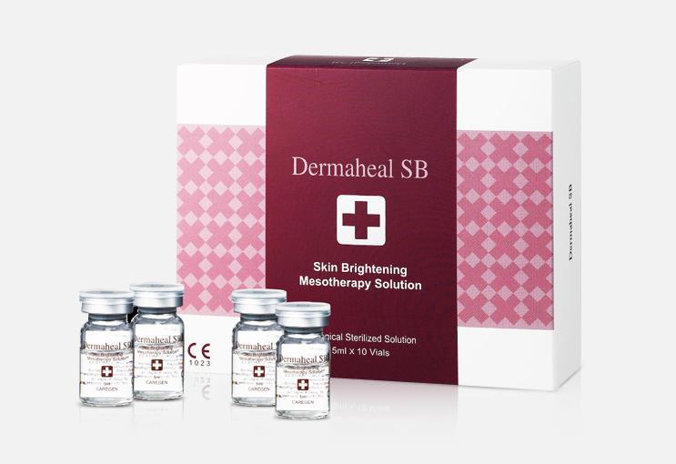 DERMAHEAL SB - TRATAMIENTO MESO ILUMINADOR FACIAL 10 VIALES/5 ML
