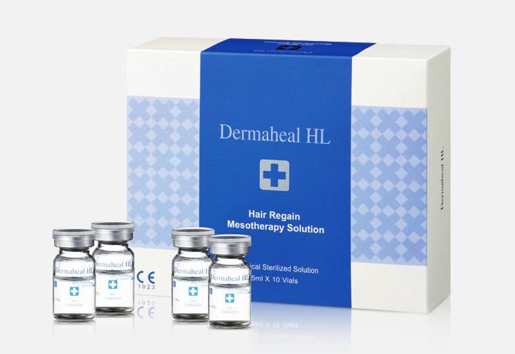DERMAHEAL HL - TRATAMIENTO MESOTERAPIA ANTI-CAIDA DE CABELLO 10 VIALES/5 ML