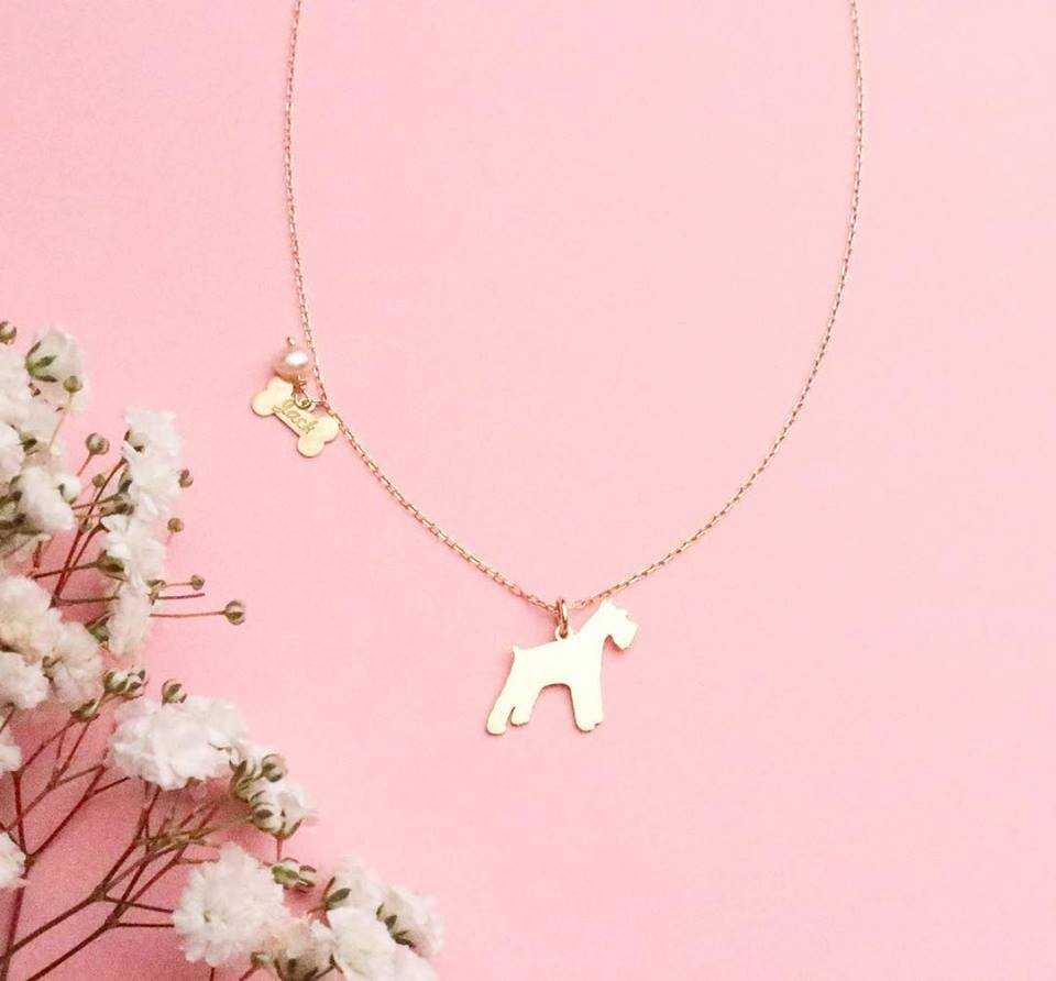 "Necklace ""my dog"""