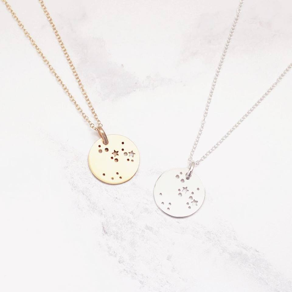 Constellation sign necklace