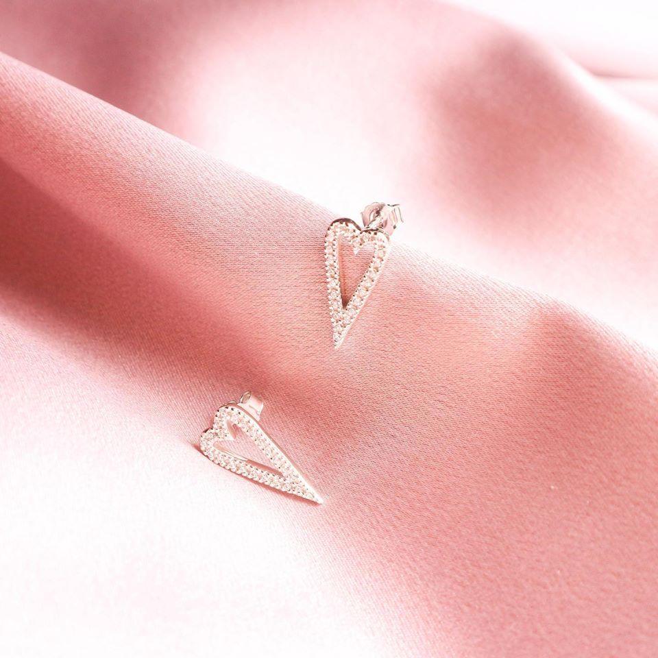 Brincos hearts | amor é encontrar um lar noutro peito
