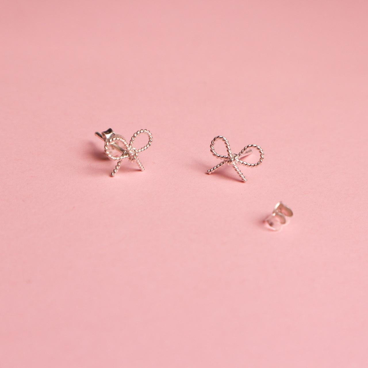 Boucles d'oreilles en boucle